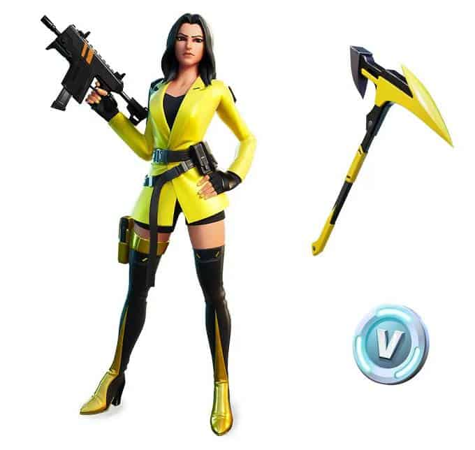 Pack demarrage Fortnite YellowJacket Skin Starter Prix