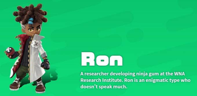 Ron Ninjala parsonnages Guide