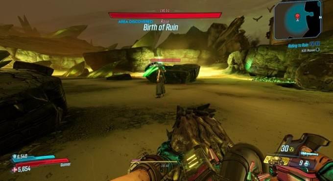 Battre Rose dans Borderlands 3 (BL3) - Mision Riding to Ruin