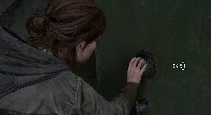 Guide de Tous les codes de combinaisons et emplacements des coffres-forts The Last of Us 2