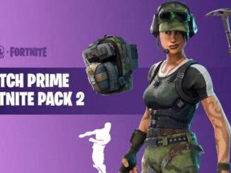 Fortnite Twitch Prime Pack 2 - Comment associer Twitch Prime et Fortnite