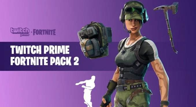 Fortnite Twitch Prime Pack 2 - Comment associer Twitch Prime et Fortnite