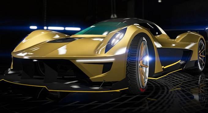 Voitures rapides dans Grand Theft Auto Online / GTA 5