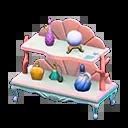 Étagère sirène - Animal Crossing New Horizons Sirène, Pirate et Plongée, débloquer les nouveaux objets - mise à jour 1.3.0