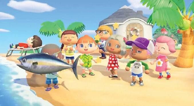 Animal Crossing New Horizons, Juillet nouveaux insectes et poissons