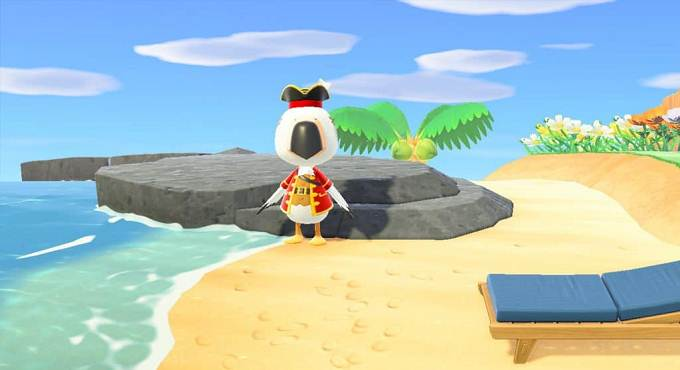 Animal Crossing New Horizons Objets Pirate
