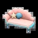 Canapé sirène - Animal Crossing New Horizons Sirène, Pirate et Plongée, débloquer les nouveaux objets - mise à jour 1.3.0