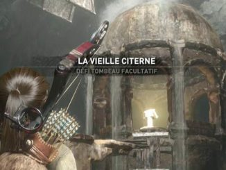Défi Tombeau Facultatif La vieille citerne de Rise of the Tomb Raider Guide