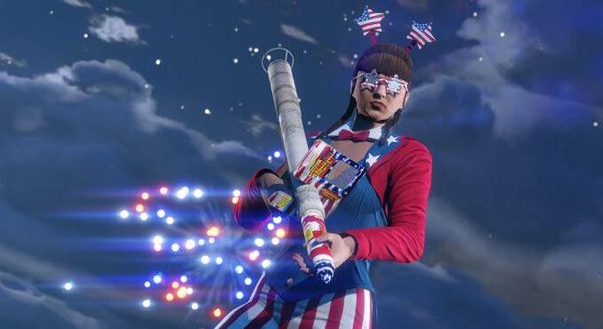Récompenses spéciales Jour de l'Indépendance dans GTA Online / GTA 5 Update