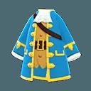 Manteau de pirate Animal Crossing New Horizons - Débloquer nouveaux objets Sirène, Pirate et Plongée