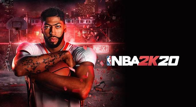 NBA 2K20 PS4 juillet 2020 - 10 ans de soutien à PS Plus - Jeux gratuits du mois
