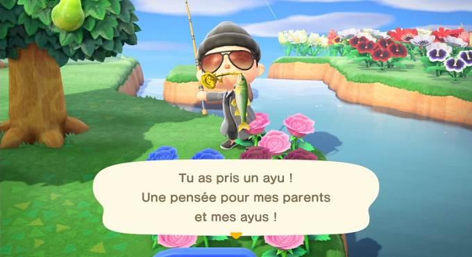Nouveaux poissons dans Animal Crossing pour Juillet Guide