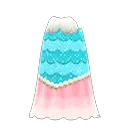 Robe océane de sirène 2 - Vêtements collection Sirène dans Animal Crossing New Horizons mise à jour 1.3.0