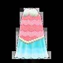 Robe océane de sirène - Vêtements collection Sirène dans Animal Crossing New Horizons mise à jour 1.3.0