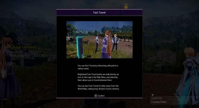 Voyage rapide dans Sword Art Online Alicization Lycoris Guide