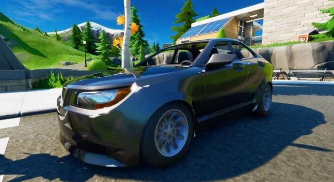Fortnite Semaine 8 Saison 3- défi de voitures - Guide