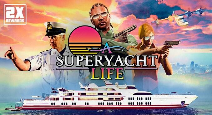 GTA Online Semaine spéciale yacht de luxe Galaxy - Mise à jour GTA V