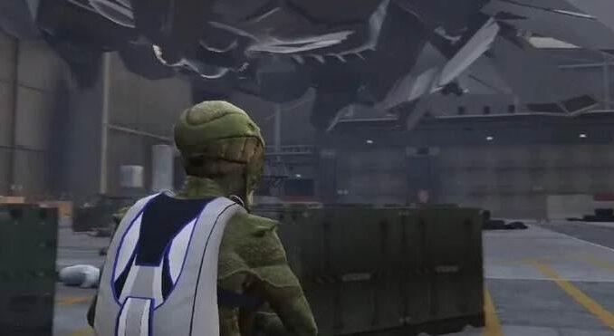 GTA 5 / GTA Online mission secrète sur les Aliens et les OVNI