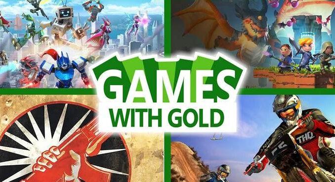 Jeux Xbox gratuits Games With Gold pour Aout 2020