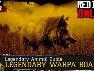 Où trouver le légendaire sanglier Wakpa dans Red Dead Online