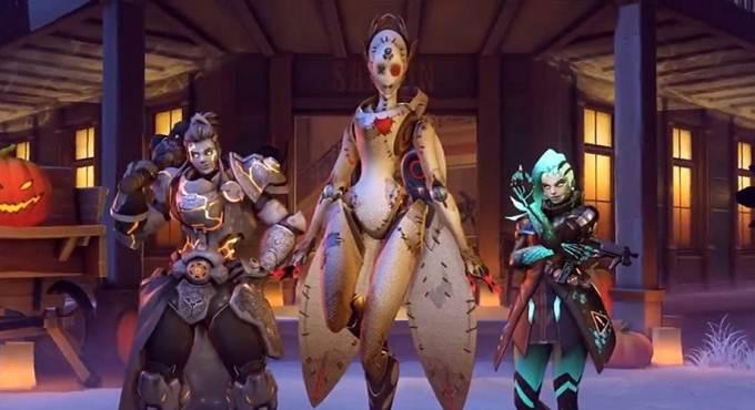 événement Overwatch Halloween Terror Octobre - Novembre 2020