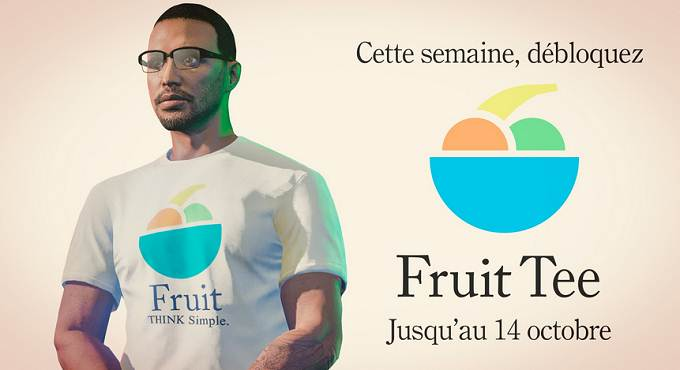 Débloquer t-shirt Fruit dans GTA Online / GTA 5