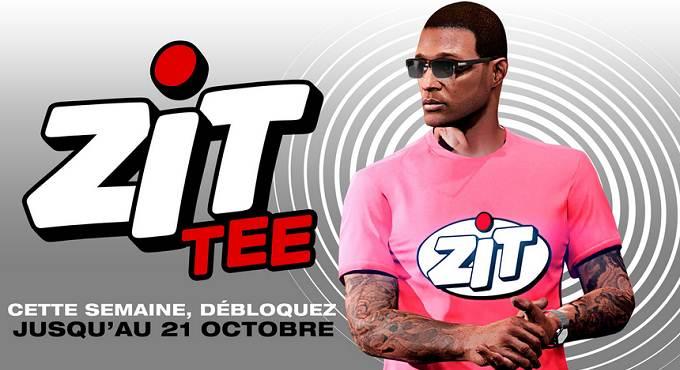 GTA Online - Débloquer T-shirt ZiT gratuit
