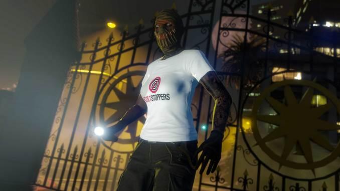 GTA Online t-shirt Cultstoppers gratuits - GTA 5