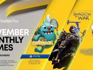 PS5 PlayStation Plus Collection Novembre 2020