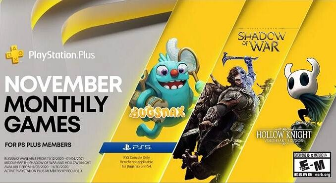 PS5 PlayStation Plus Collection Novembre 2020