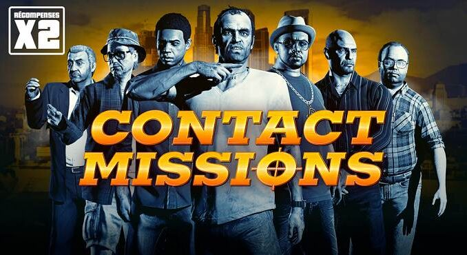 GTA Online Récompenses Missions de Contact - GTA V / GTA 6