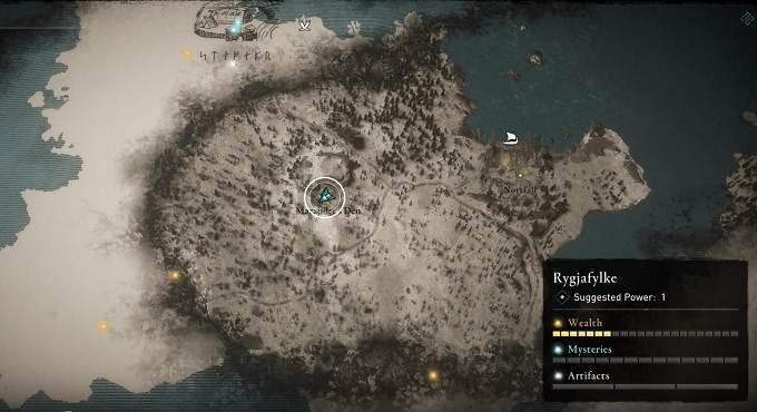 AC Valhalla - Emplacement marteau de guerre (War Hammer)