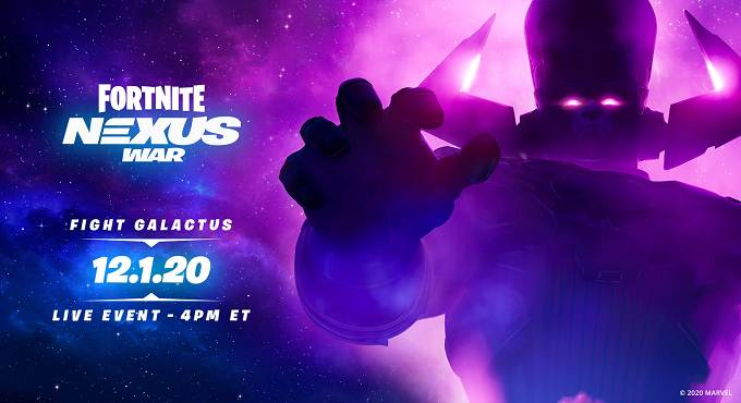 Fortnite Galactus Nexus War - PS5 XBOX PS4 PC Android SWITCH