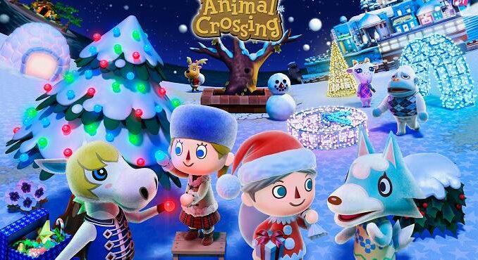 Tous les objets de Noël de Nook's Cranny dans Animal Crossing