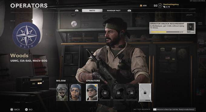 Woods dans COD Black Ops Cold War - Guide PS5 PS4 Xbox PC