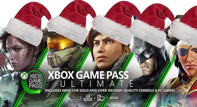 Xbox Game Pass Black Friday - Noël