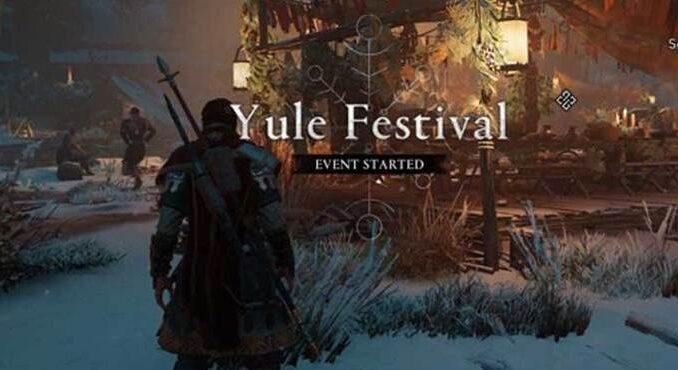 Assassin's Creed Valhalla jetons de Noël Yule Festival
