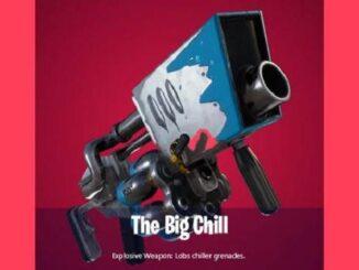 Big Chill de Fortnite - arme exotique