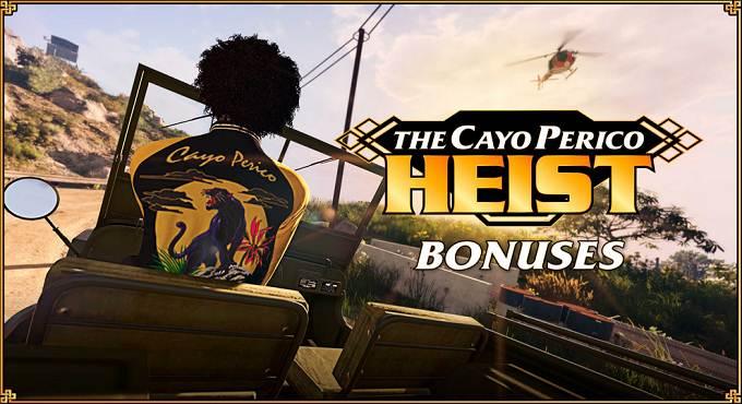 Bonus Braquage de Cayo Perico de GTA Online - PS5 / PS4 / XBOX SERIES X / PC / XBOX ONE