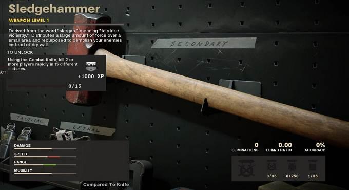 Call of Duty Black Ops Cold War - Débloquer Sledgehammer - Soluce