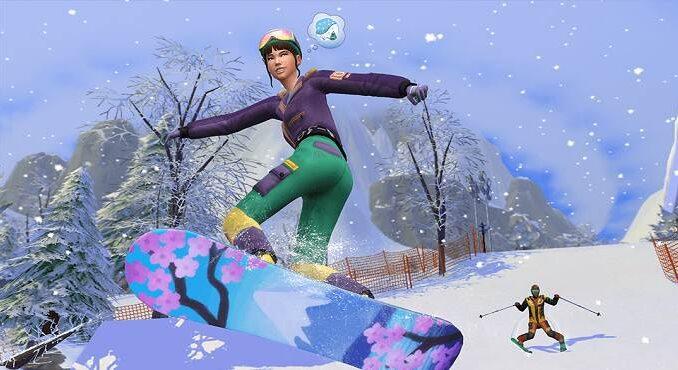 Comment activer les modes de vie dans Les Sims 4 Snowy Escape - Guide