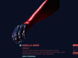 Cyberpunk 2077 Guide - Comment obtenir le Mod légendaire Animals Knuckles - Bras de gorille