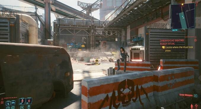 Cyberpunk 2077 Cyberpsycho Sightings Locations Guide de tous les emplacements