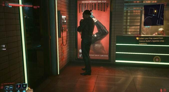 Cyberpunk 2077 The Gig - Récupérer la récompense gratuite de Cassius Ryder - Guide PS5, XBOX, PC, PS4
