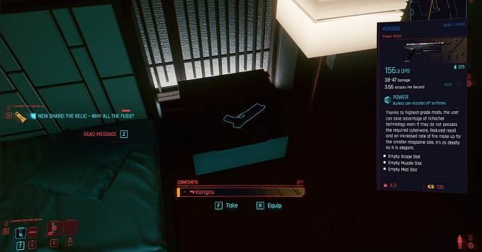Comment Débloquer Cyberpunk 2077 Kongou - Guide