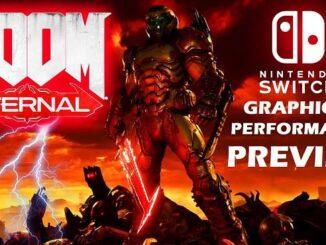 Doom Eternal Nintendo Switch Date sortie, bonus, bande annonce