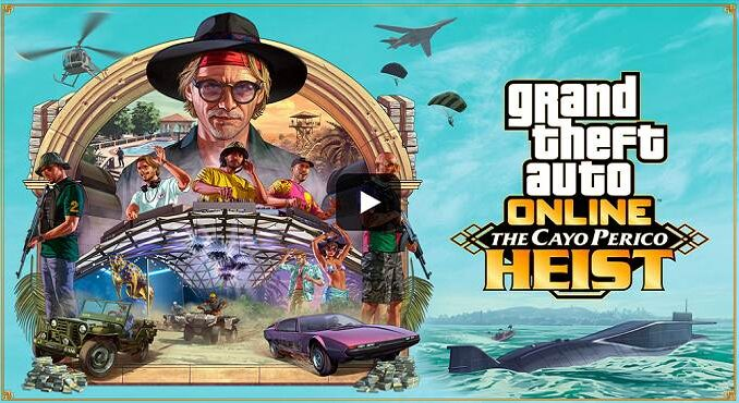 GTA 5 Braquage Cayo Perico - GTA Online - PS5 / PS4 / XBOX / PC / ANDROID