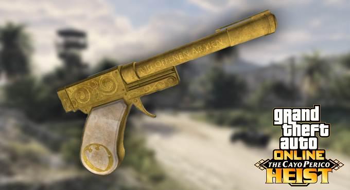 GTA Online Pistolet Perico - Braquage Cayo Perico