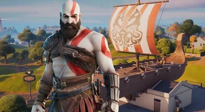 God of War Kratos arrive dans Fortnite Saison 5