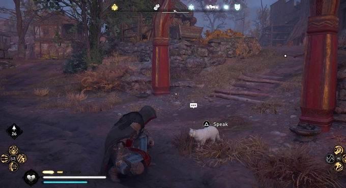 Où trouver le compagnon chat secret dans Assassin's Creed Valhalla - Guide